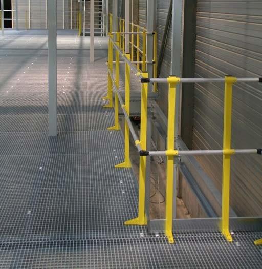 Mezzanine sur-mesure dans usine