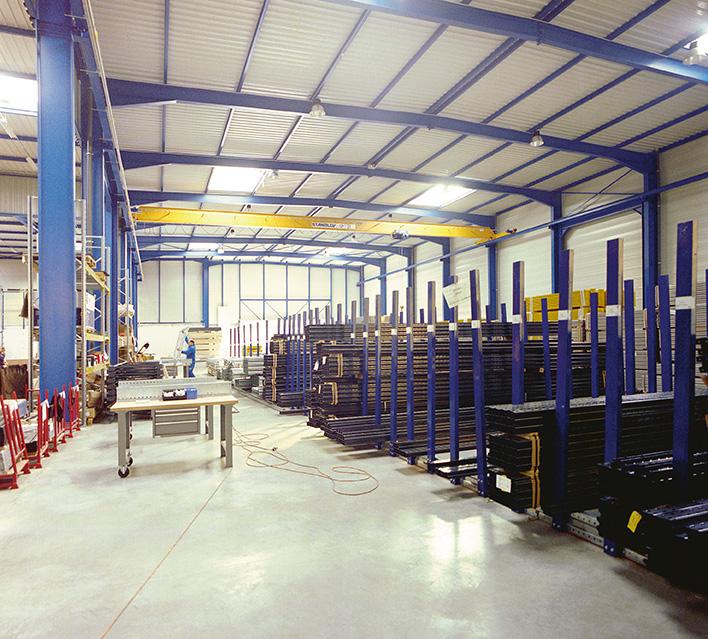 Fabrication mezzanine métallique